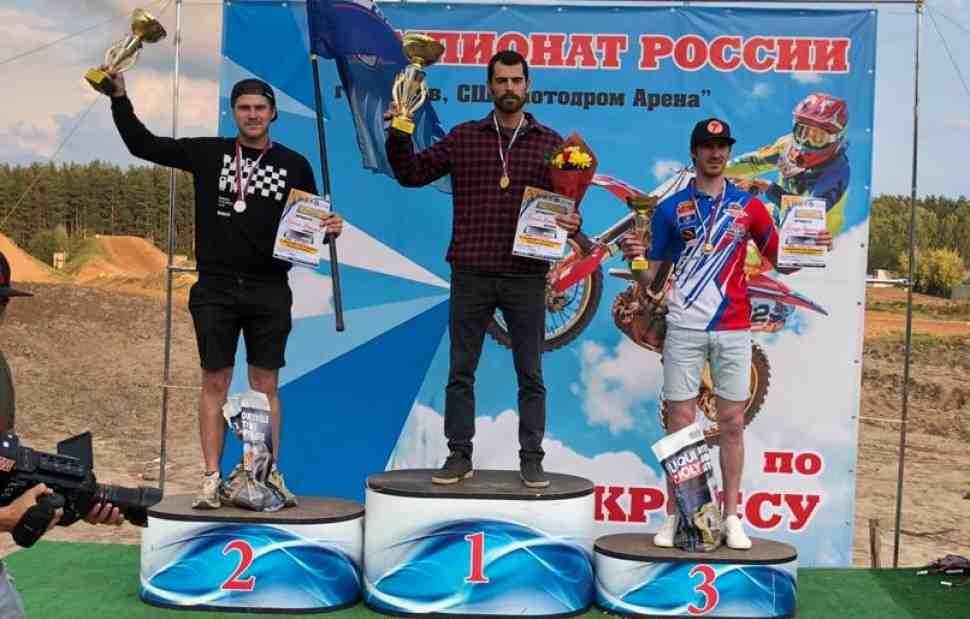 Мотокросс: Максим Назаров включился в борьбу за лидерство в Чемпионате России