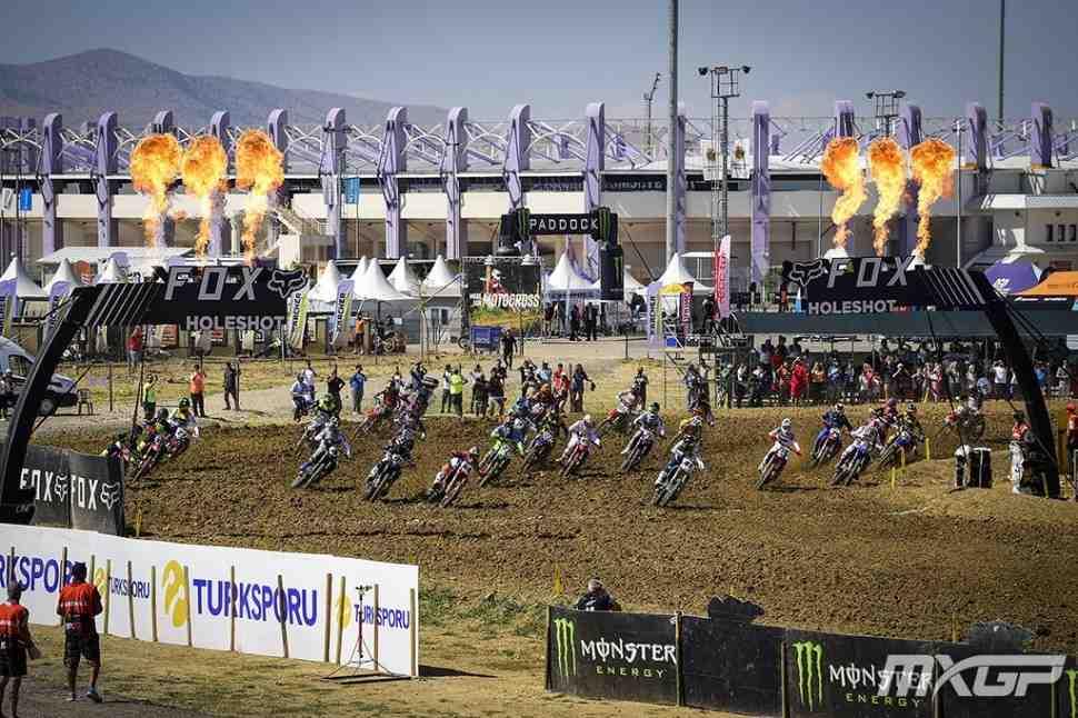 Мотокросс: результаты и видео Гран-При Турции MXGP/MX2
