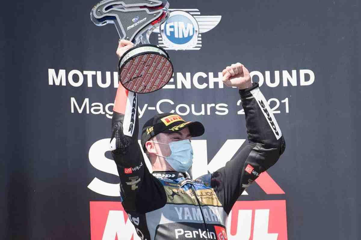 Победитель французской гонки WorldSSP Мануэль Гонсалес вновь вступает в Moto2 с MV Agusta