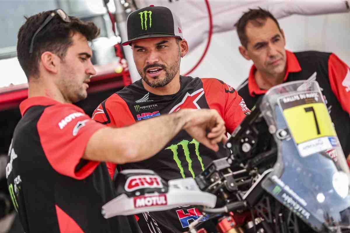 Monster Energy Honda Team оккупировала ТОП-3 по итогам СУ1 Rallye du Maroc