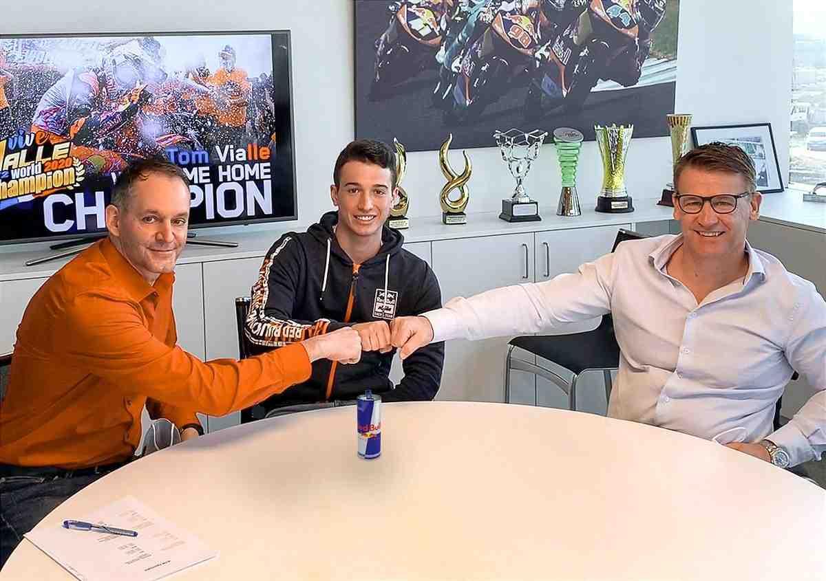 Мотокросс: Том Виалль перейдет в MXGP с KTM