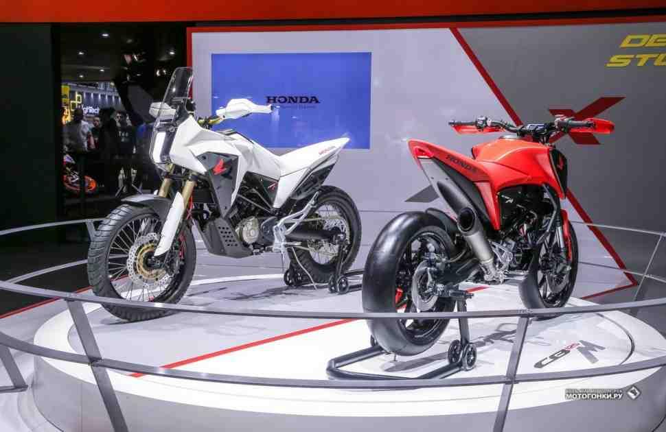Honda R&D представила на EICMA-2018 два концепта - мотард и эндуро
