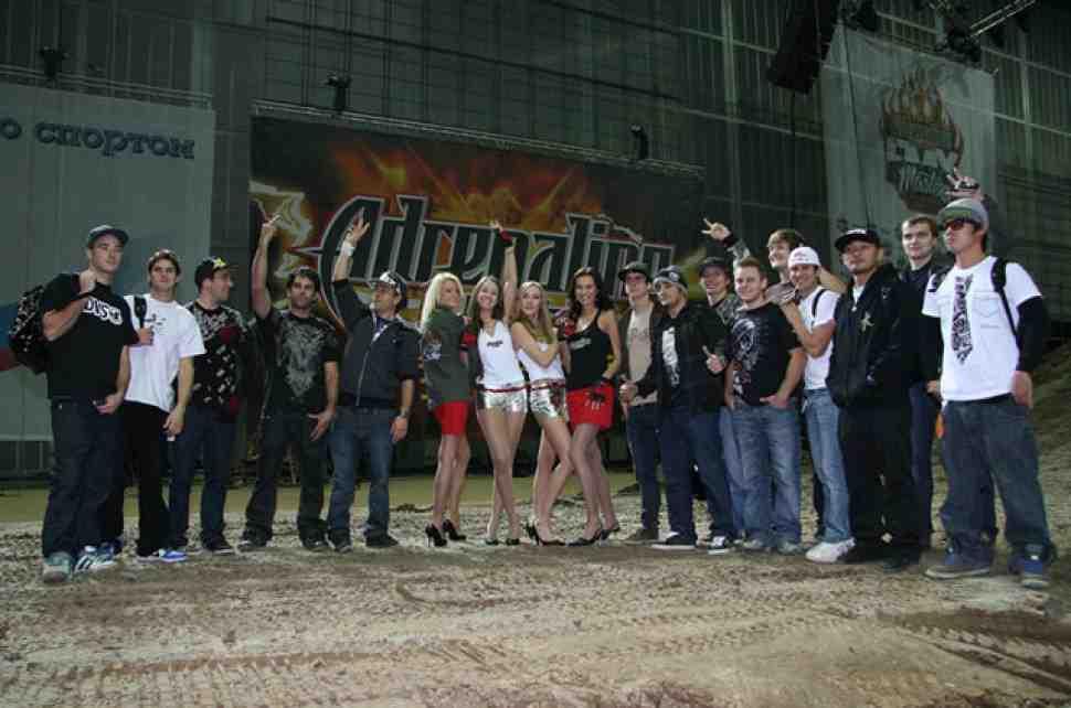Adrenaline Rush FMX Masters: пятничные бдения иностранцев в России