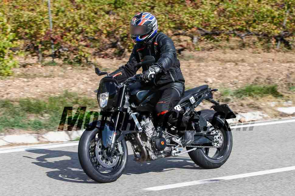 Большой KTM Duke может вернуться в модельный ряд