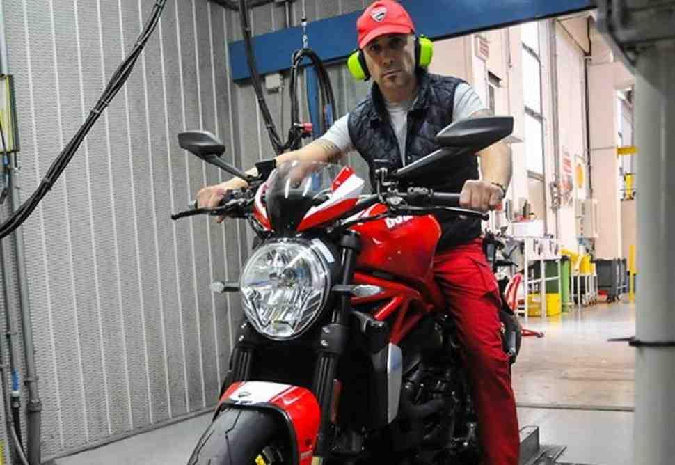 Борго-Панигале открыл линию по производству Ducati Monster 1200 R