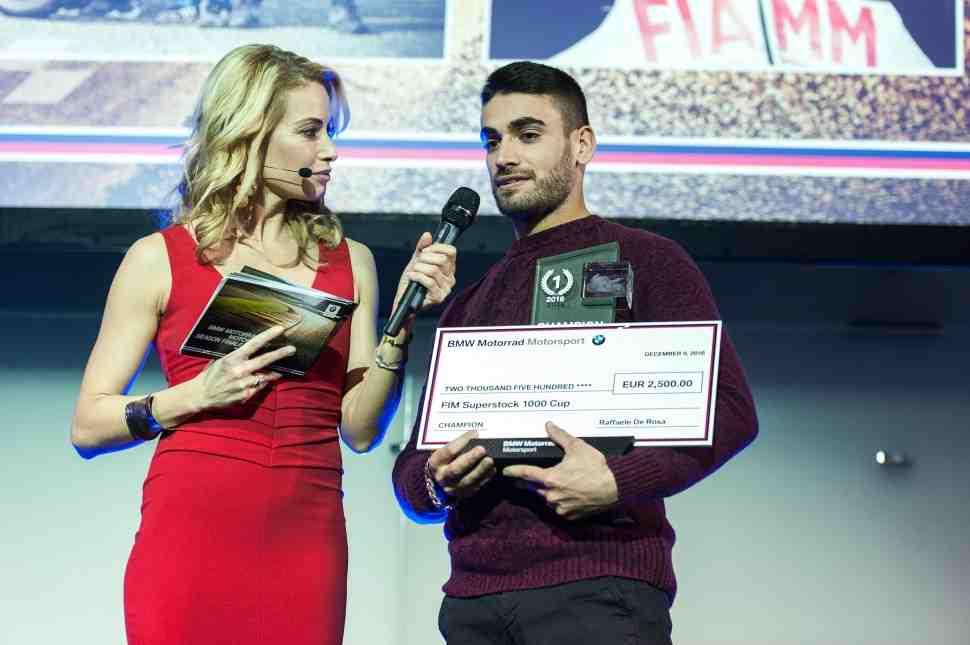Чемпион FIM Superstock-1000 - Рафаэль Де Роса: только Superbike!