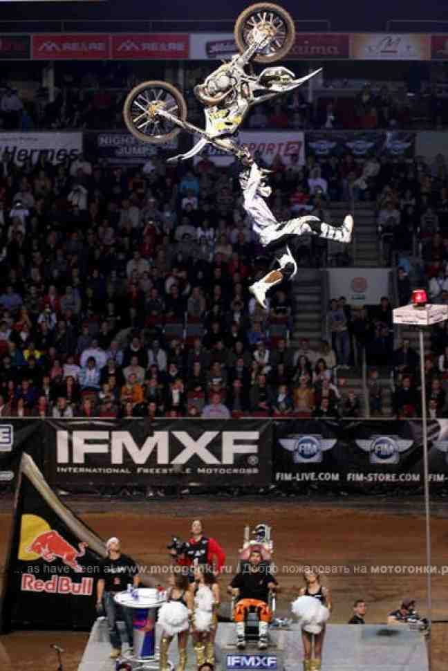Чемпионат мира по FMX, Рига: дебют Алексея Колесникова