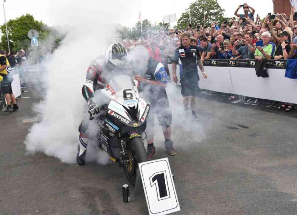 Данлоп на BMW установил еще один абсолютный рекорд Isle of Man TT