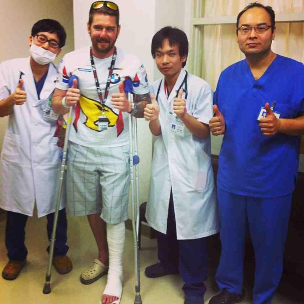 Дэмиан Кадлин выбывает из Suzuka 8H с травмой