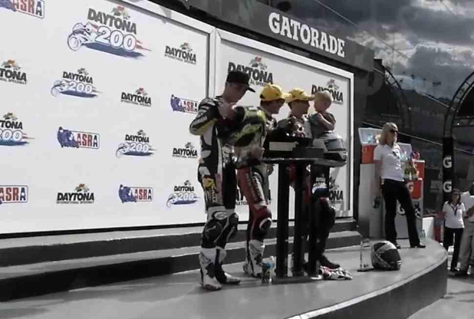 Денни Эслик выиграл 74-ю Daytona 200 с разницей в 0.086 сек