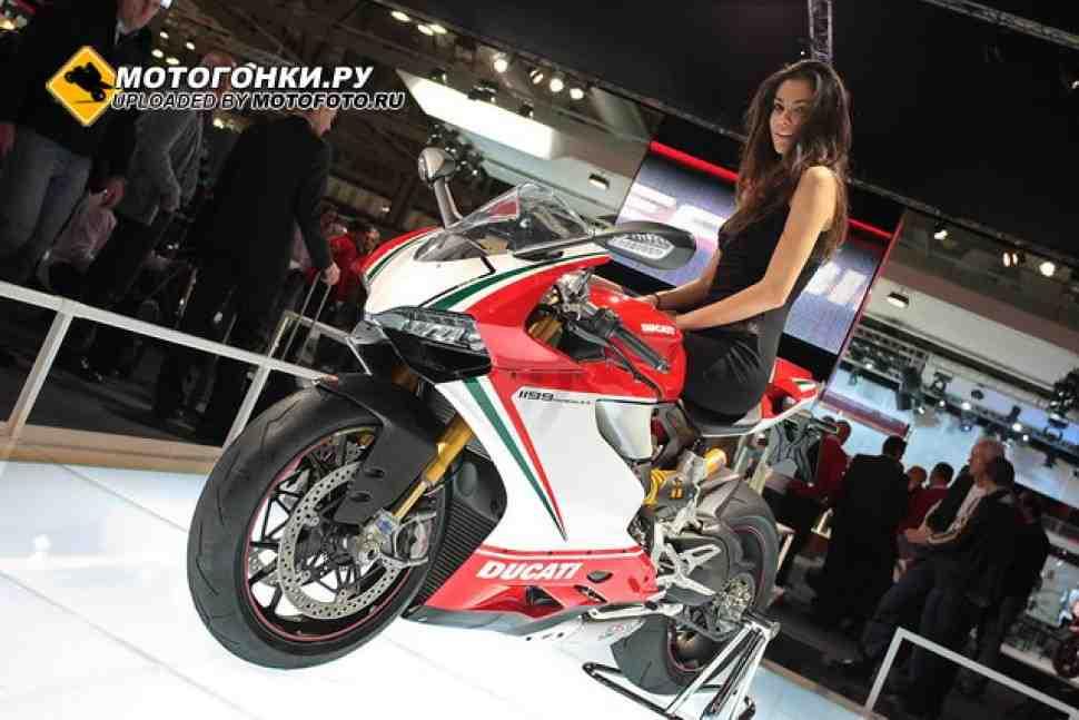 Ducati 1199 Panigale на дино-стенде (видео)