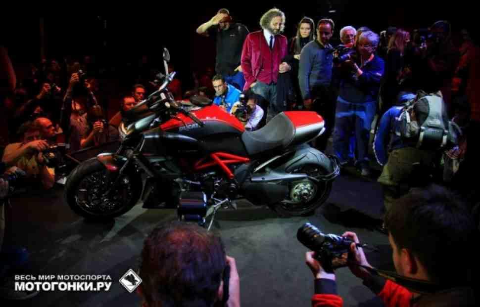 Ducati Diavel: первый тест-драйв уже на этой неделе!