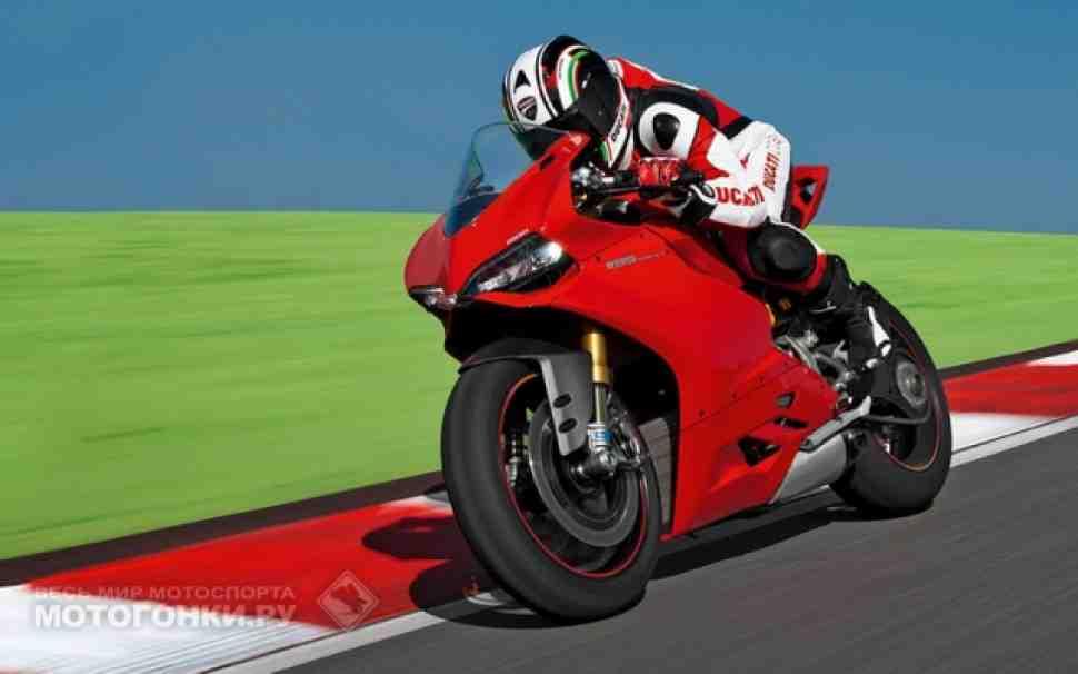 Ducati Panigale 1199: официальное видео