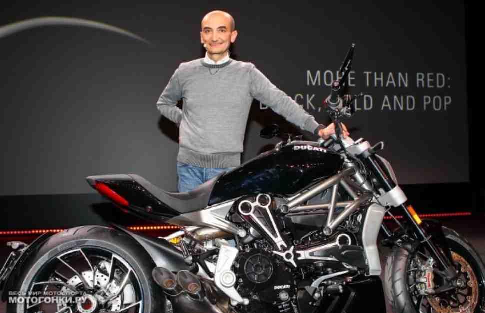 EICMA-2015: Ducati Xdiavel - черное к лицу джентльменам