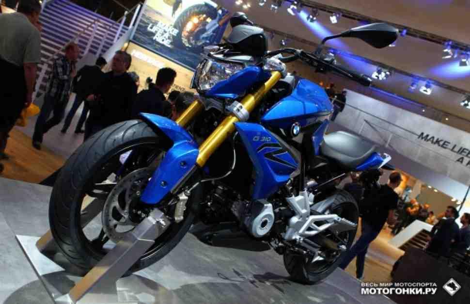 EICMA-2015: Duke Killer выпущен на свободу - BMW G 310 R