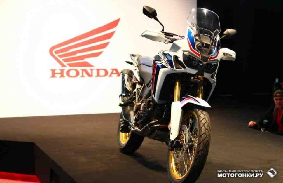 EICMA-2015: Honda Africa Twin (2016) - первые впечатления