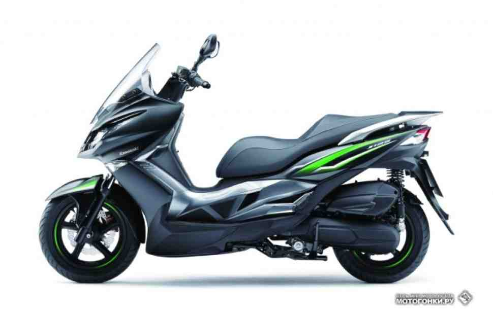 EICMA-2015: Kawasaki J125 - расширение влияния в скутерном мире