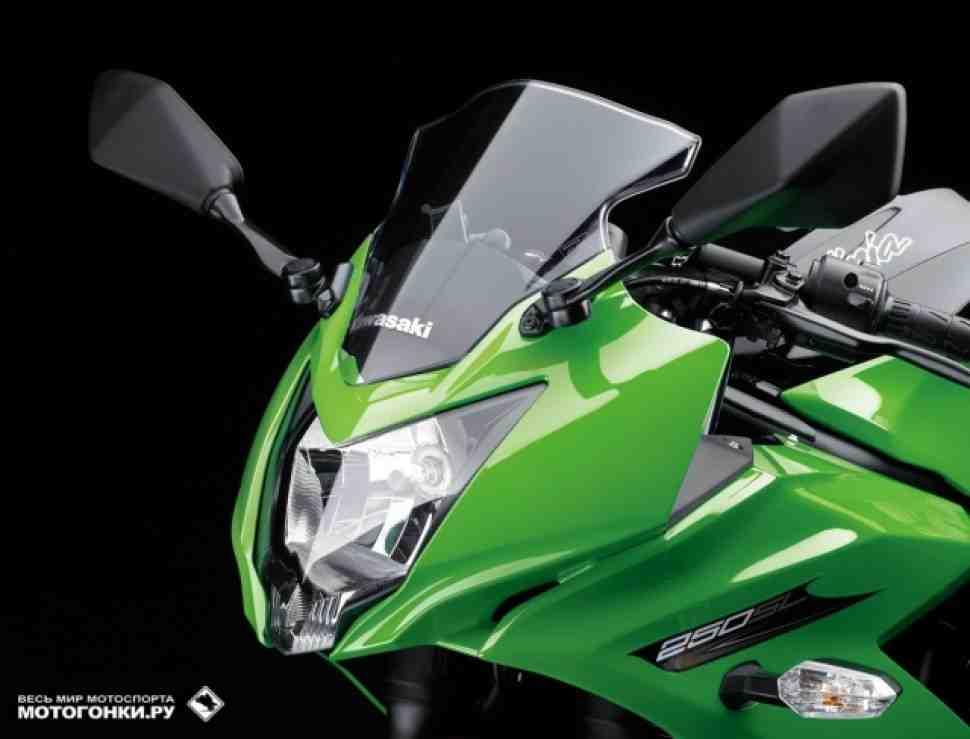 EICMA-2015: Kawasaki Ninja 250 вернулся в модельный ряд