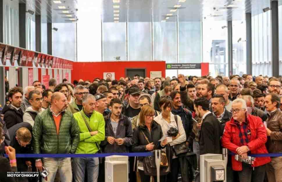 EICMA-2015 установила абсолютный рекорд посещаемости