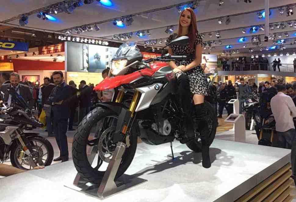 EICMA-2016: BMW, Honda, Suzuki и Kawasaki показали малые туристические эндуро