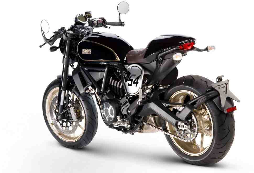 EICMA-2016: Ducati Scrambler CafeRacer и Desert Sled - не мотоцикл, а новый бренд