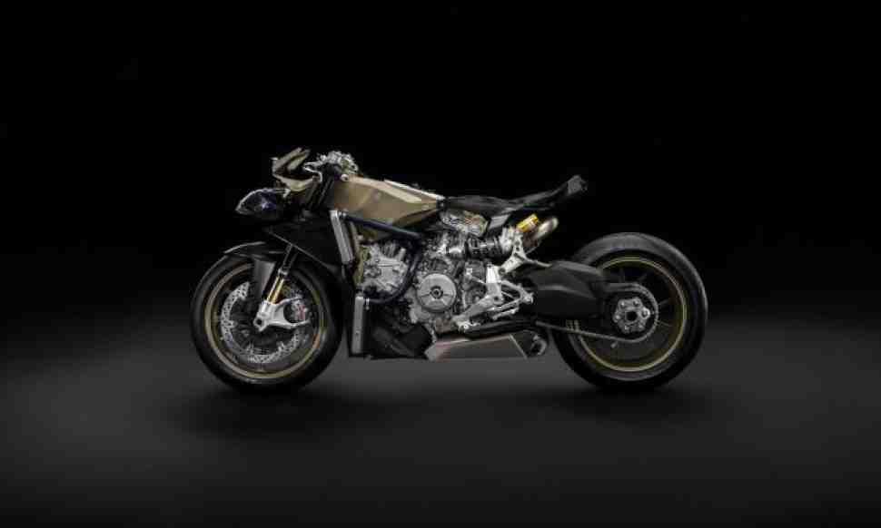 EICMA-2016: презентация Ducati Projetto 1408 в прямом эфире