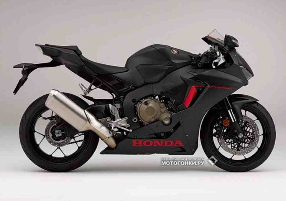 EICMA-2016: Раскрыта гражданская спецификация Honda CBR1000RR Fireblade (2017)