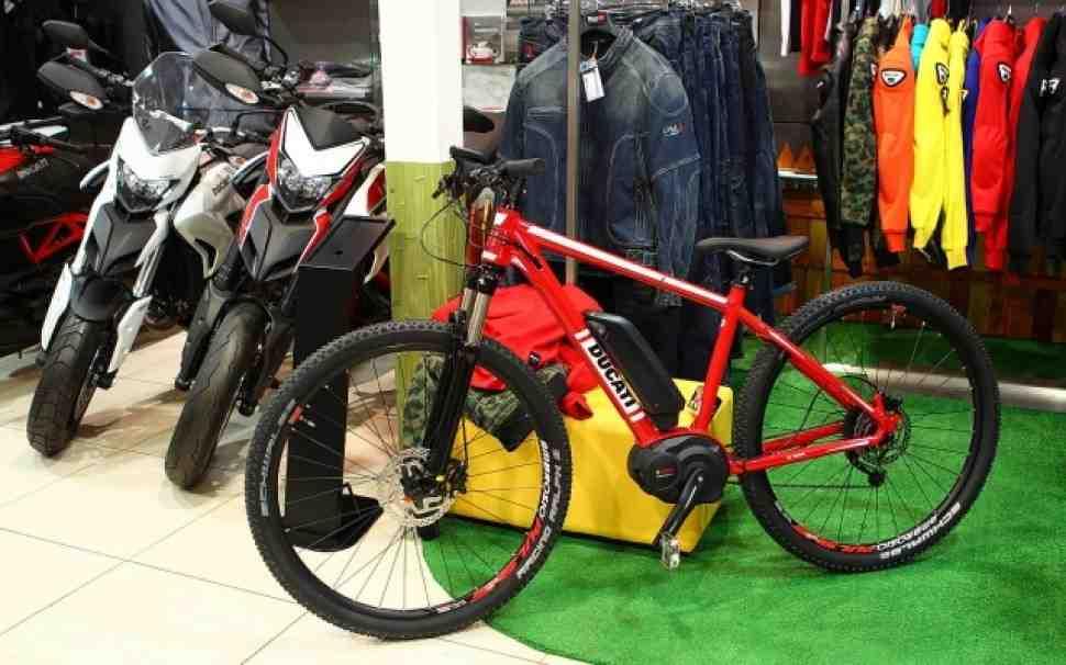 Электровелосипеды Ducati E-Sport Man поступили в продажу