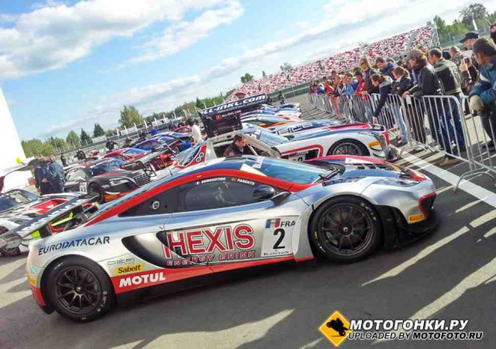 FIA GT: Сегодня мы снова в Moscow Raceway