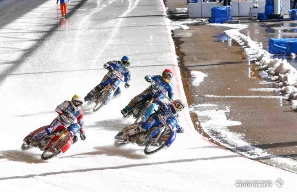 FIM Ice Speedway Gladiators 2015: видео RD4, Assen