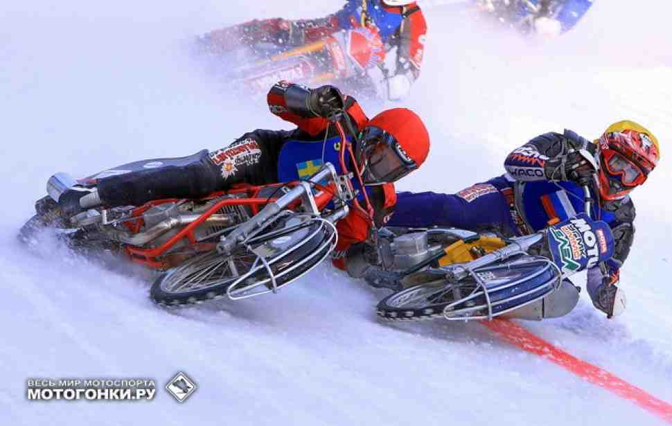 FIM Ice Speedway Gladiators 2016: россияне доминируют на квалификации в Эстерзюнде