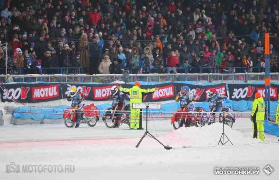 FIM Ice Speedway Gladiators: Красногорск 2015, видео