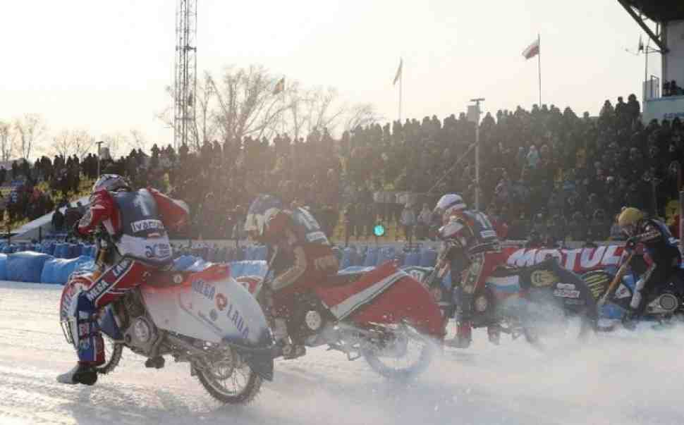FIM Ice Speedway Gladiators: стартовый лист 1 финала в Красногорске