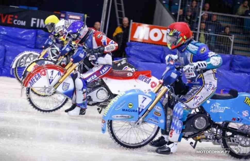 FIM Ice Speedway Gladiators в Ассене: первый день за Колтаковым