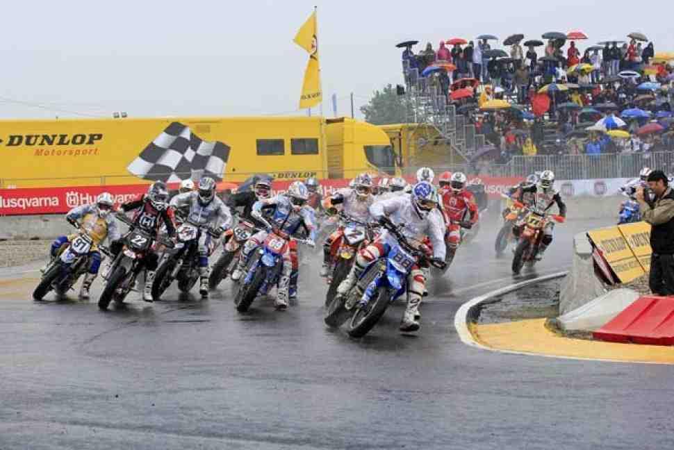 FIM Supermoto: Ван Ден Бош лидирует после ГранПри Европы