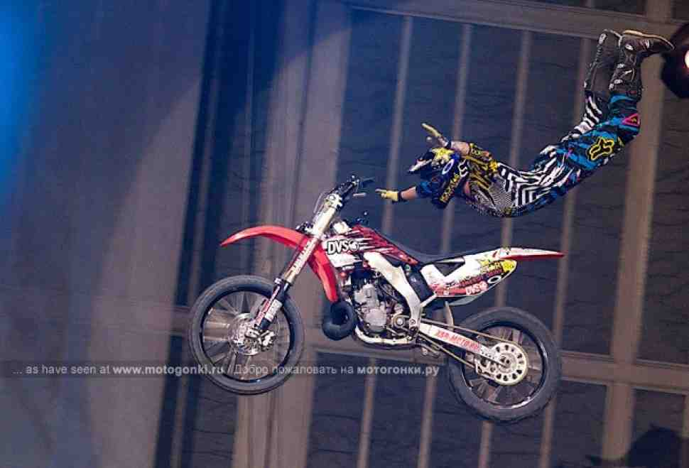 FMX: Чемпионат мира по мотофристайлу - прямо сейчас, в прямом эфире!