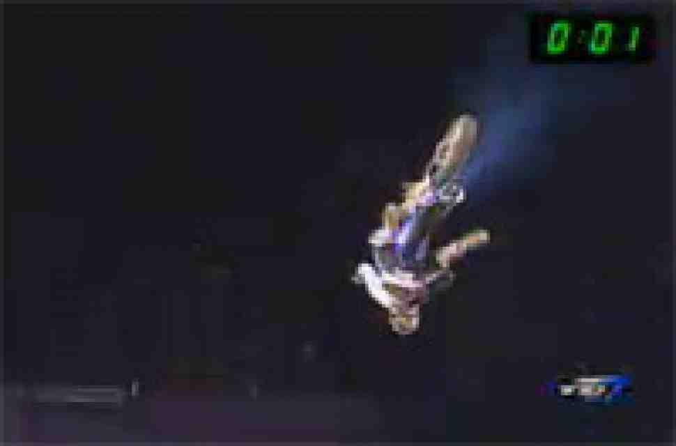 FMX: крушение Джереми Ласка, X Knights 2009, Коста-Рика (видео)