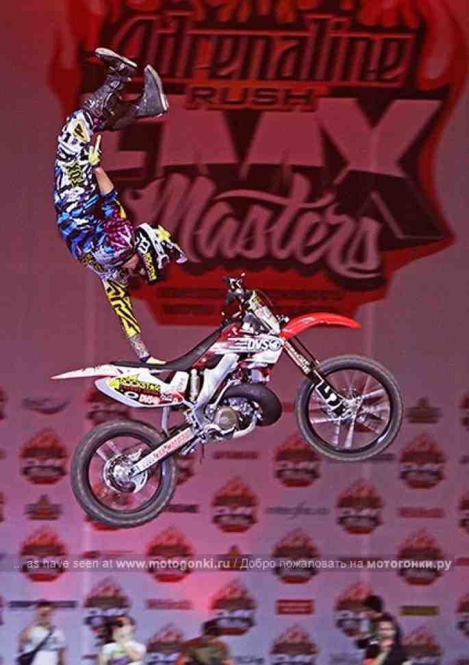 FMX Masters Tournado прокатится по всей стране
