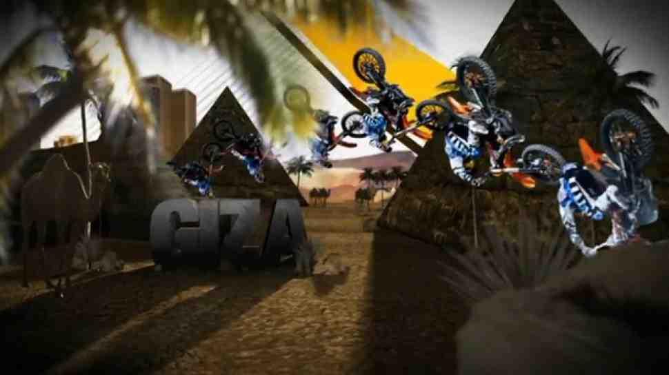 FMX: Ронни Реннер - Red Bull X-Fighters в Египте (видео)