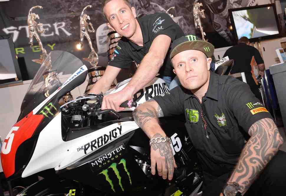Фронтмен Prodigy Кейт Флинт заявил свою команду в British Superbike
