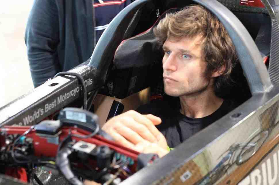 Гай Мартин попытается установить рекорд скорости Бонневиль Speed Week на Triumph