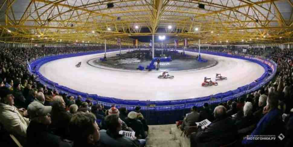 Голландия приветствует участников FIM Ice Speedway Gladiators