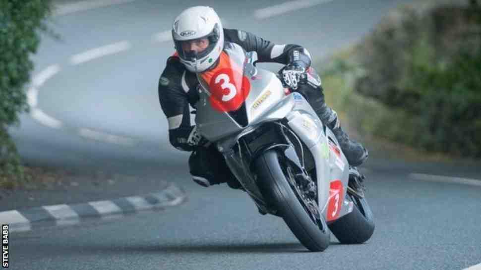 Голландский гонщик погиб на квалификации Manx Grand Prix