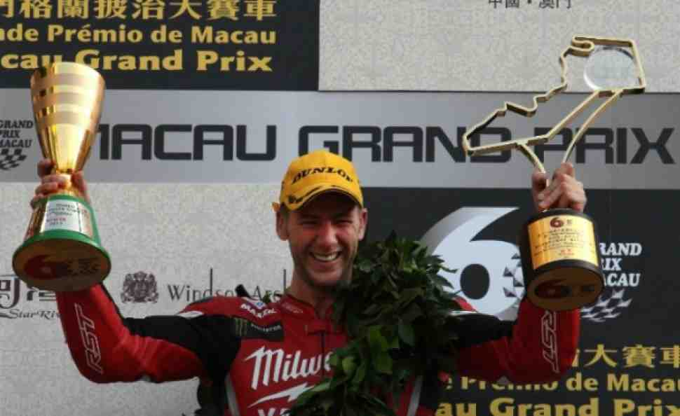 Хатчинсон выигрывает Гран-При Макао 2013