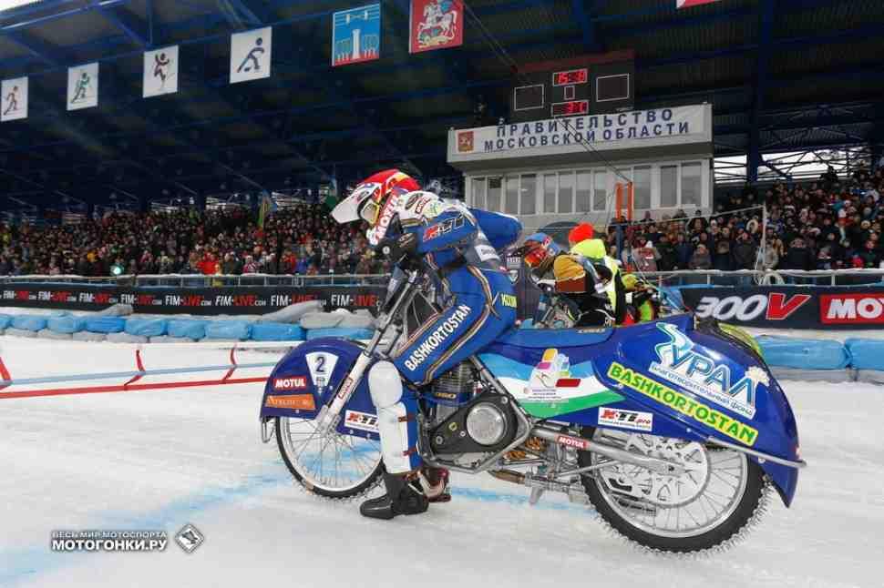 Ice Speedway Galdiators: подробности финала ЛЧМ по мотогонкам на льду в Красногорске