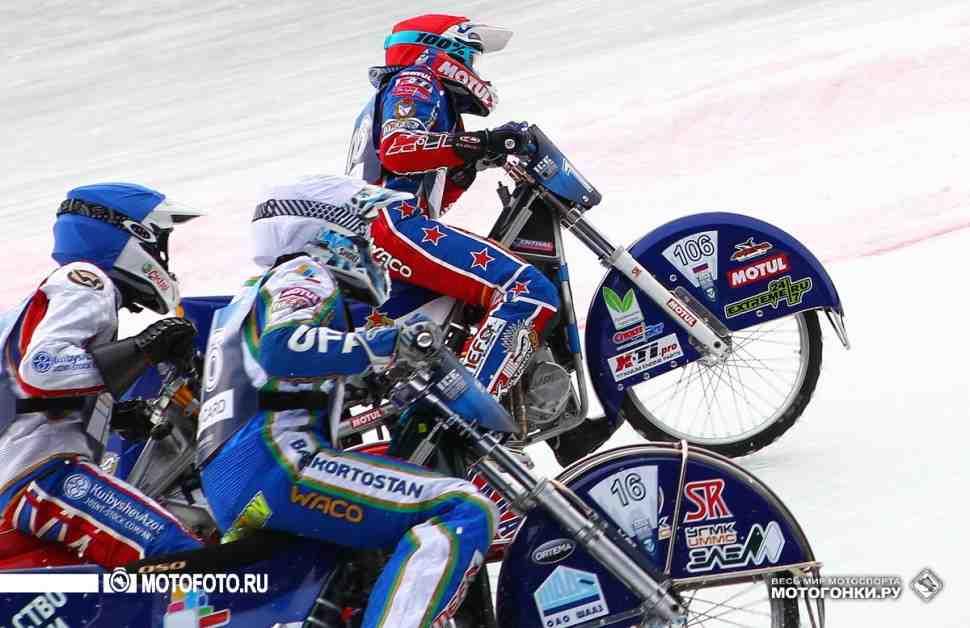 Ice Speedway Gladiators 2016: Хомицевич взял золото Зоркого во втором финале