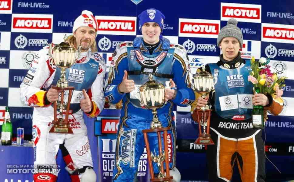 Ice Speedway Gladiators: Финал 3, Алма-Ата, суббота