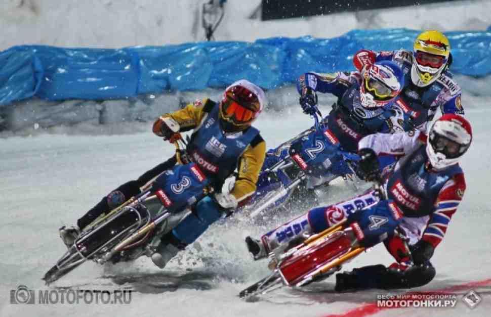 Ice Speedway Gladiators: комментарии с подиума - Тольятти, Финал 2