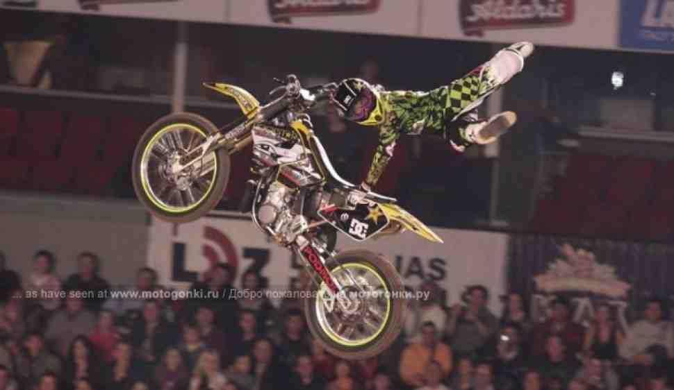 IFMXF: Итоги этапа чемпионата мира по мотофристайлу в Риге