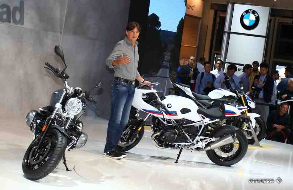 INTERMOT-2016: BMW показал немного кафе-рейсерской классики - еще пара R nineT